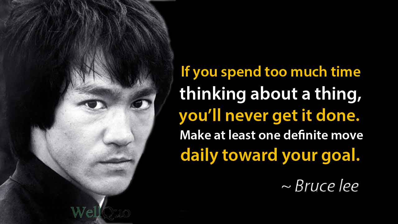 Quotes of Bruce lee for Motivation & Dedication - Wellquo
