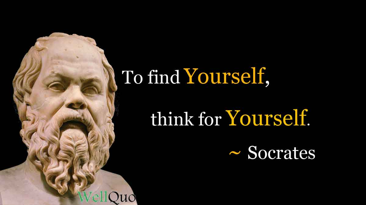 Socrates Quotes on Life and Wisdom - Well Quo