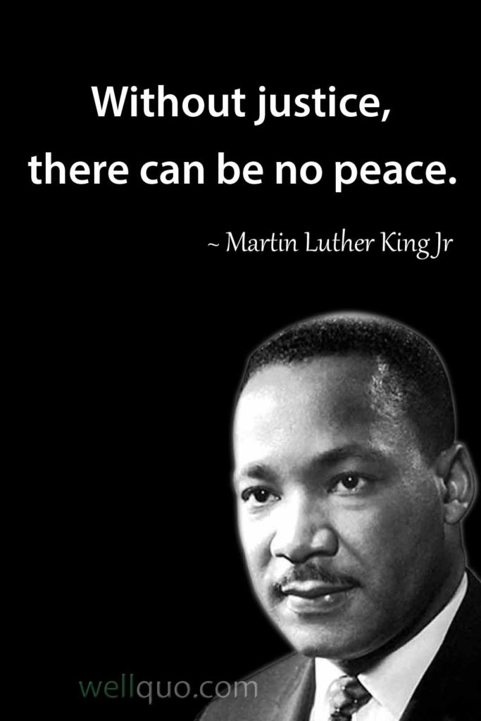 Martin Luther King Jr Quotes - Well Quo