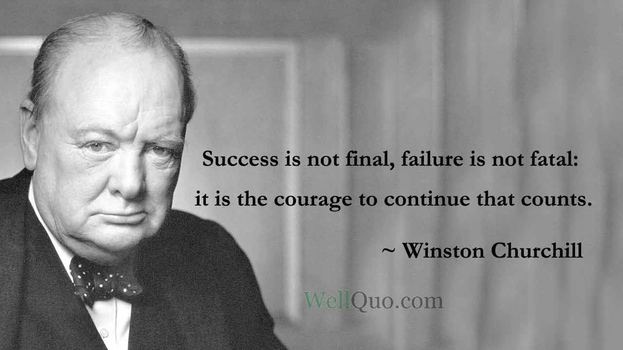Winston Churchill Quotes for Success - Well Quo